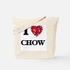 I love Chow Tote Bag