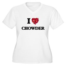 I love Chowder Plus Size T-Shirt