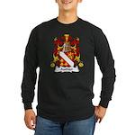 Authier Family Crest Long Sleeve Dark T-Shirt