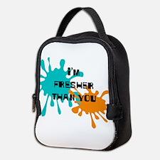 Cute Online game Neoprene Lunch Bag