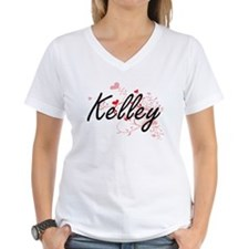 Kelley Artistic Design with Hearts T-Shirt