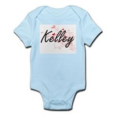 Kelley Artistic Design with Hearts Body Suit