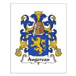 Augereau Family Crest Small Poster