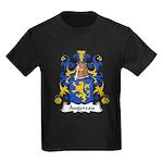 Augereau Family Crest Kids Dark T-Shirt