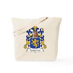 Augereau Family Crest Tote Bag