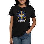 Augereau Family Crest Women's Dark T-Shirt