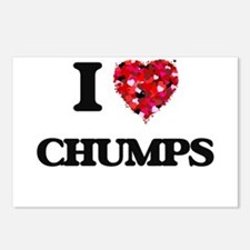 I love Chumps Postcards (Package of 8)