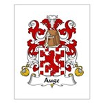 Auge Family Crest Small Poster