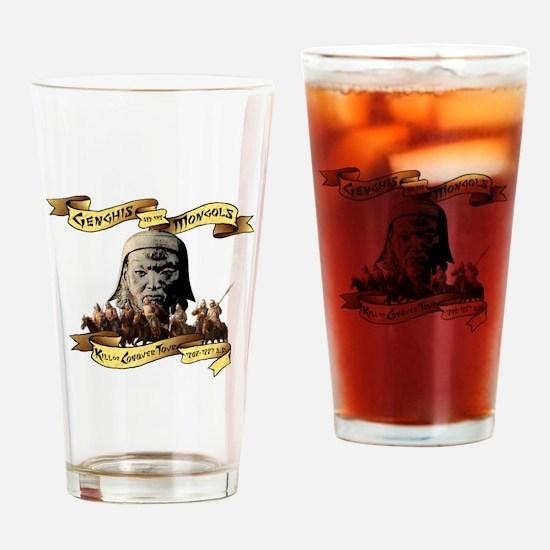 Cute Mongolia Drinking Glass