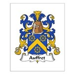 Auffret Family Crest Small Poster