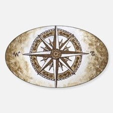 Spirit Compass Sticker (Oval)