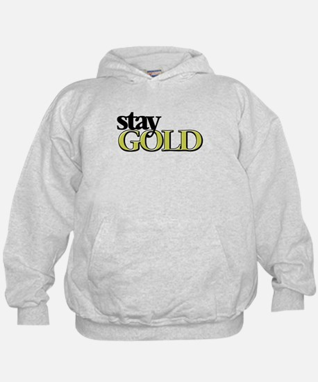 Unique Stay gold Hoodie