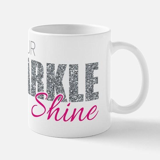 Unique Glitter Mug