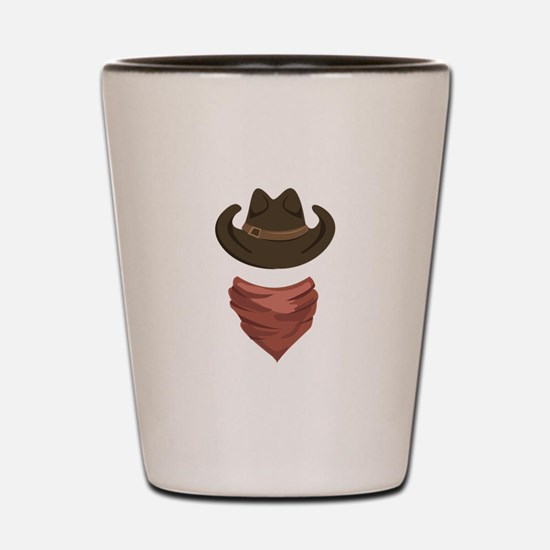 Cowboy Shot Glass