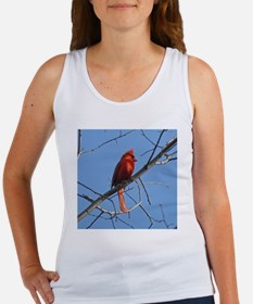Male Cardinal Women's Tank Top