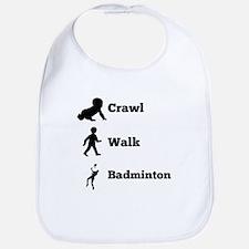Crawl Walk Badminton Bib