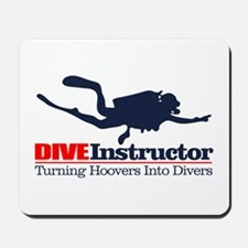 Dive Instructor Mousepad