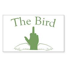 The Bird Rectangle Decal