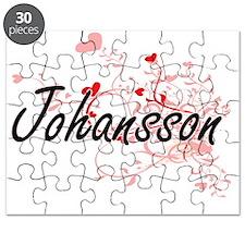 Johansson Artistic Design with Hearts Puzzle