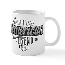 Birthday Born 1970 American Legend Mug