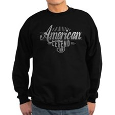 Birthday Born 1970 American Lege Sweatshirt