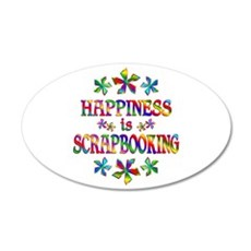 Happiness is Scrapbooking Wall Decal