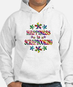 Happiness is Scrapbooking Hoodie