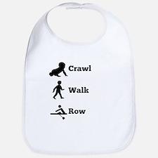 Crawl Walk Row Bib
