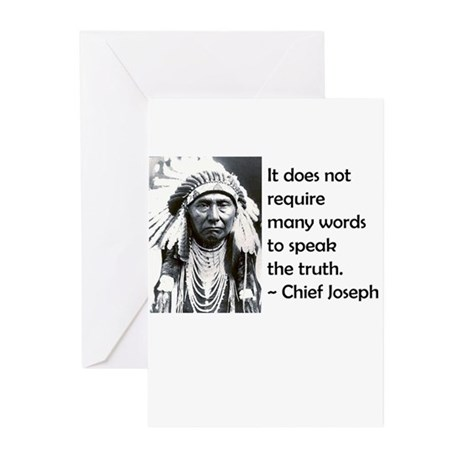 Truth Quote Greeting Cards (Pk of 10)