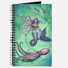 Mermaid with Octopus Journal