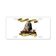 Funny Horde Aluminum License Plate