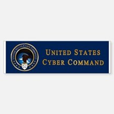 US Cyber Command Emblem Sticker (Bumper)