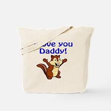 Funny I love chipmunks Tote Bag