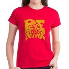 Peace is the Answer Tee