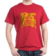 Peace is the Answer T-Shirt