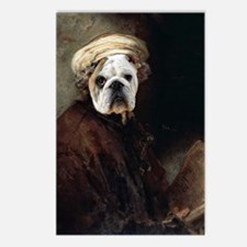 Rembrandt  bulldog autopo Postcards (Package of 8)