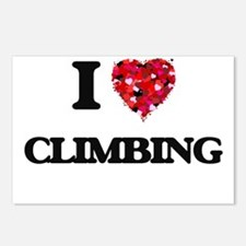 I love Climbing Postcards (Package of 8)