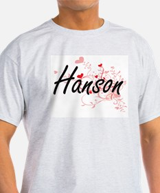 Hanson Artistic Design with Hearts T-Shirt
