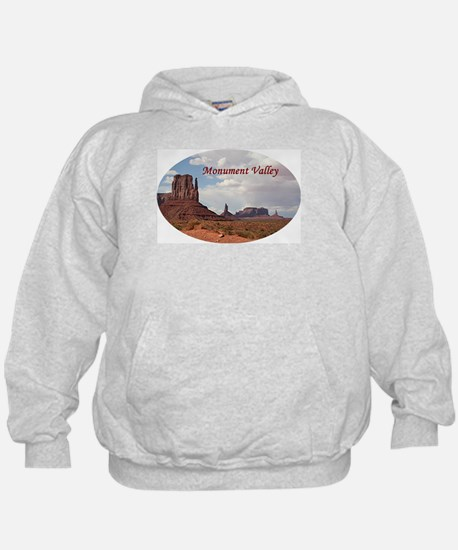 Monument Valley, Utah, USA 3 (oval cap Hoody