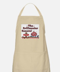 Grillmaster General BBQ Apron by Leah