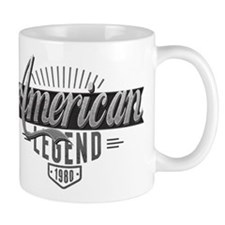 Birthday Born 1980 American Legend Mug