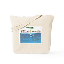 The Ten Fishmandments Tote Bag
