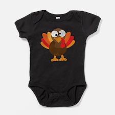 Funny Turkey Baby Bodysuit
