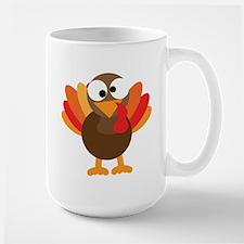 Funny Turkey Large Mug