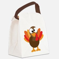 Funny Turkey Canvas Lunch Bag