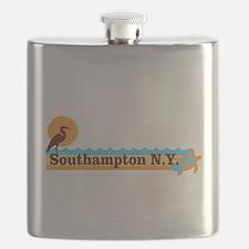 Southampton - Long Island. Flask