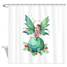 Little Christmas Fairy Shower Curtain