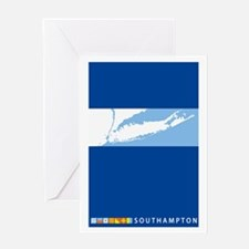 Southampton - Long Island. Greeting Card