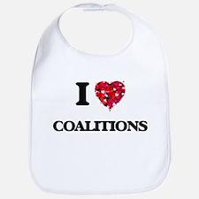 I love Coalitions Bib