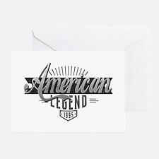 Birthday Born 1995 American Legend Greeting Card